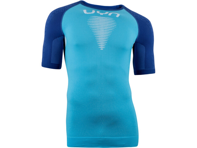 UYN Marathon OW T-Shirt Heren, wave/persian blue/white